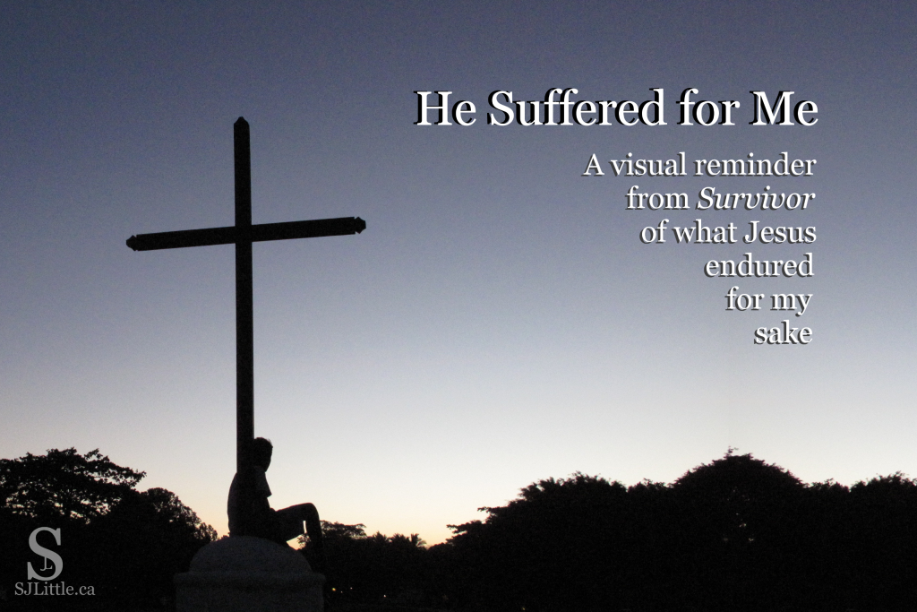 He Suffered for Me