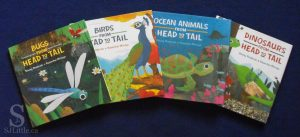 Bugs From Head to Tail and other books in the series Written by Stacey Roderick, Illustrated by Kwanchai Moriya