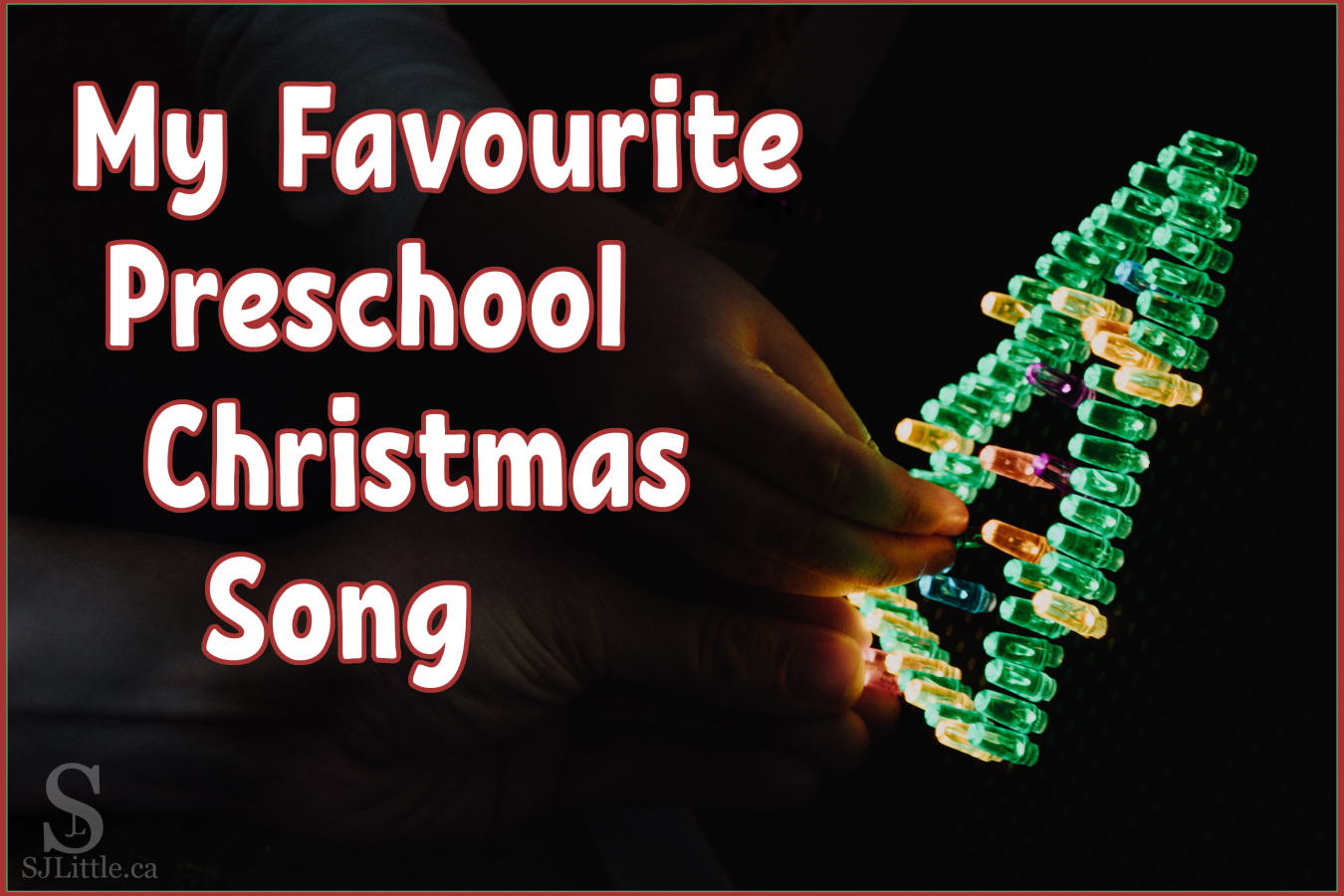 Preschool Christmas Song - Christmas tree