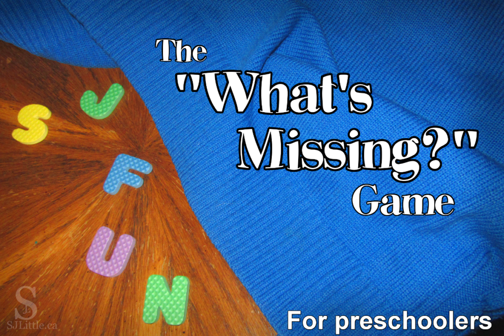 "The ""What's Missing?"" Game"