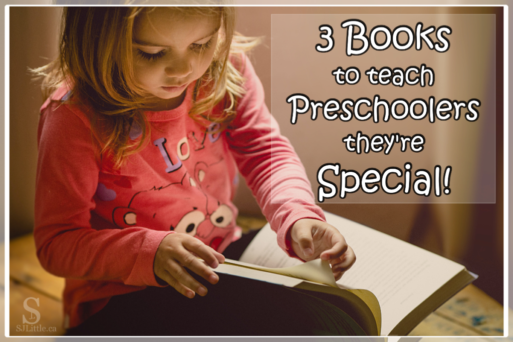 3 Books to Teach Preschoolers They're Special